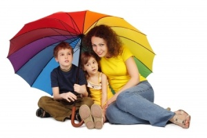 Sometimes you have to retract the umbrella to find out what your kids are capable of.